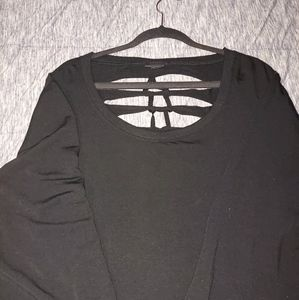 Torrid size 5 slashed ladder back long sleeve